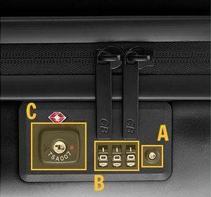 TSAロックの使い方