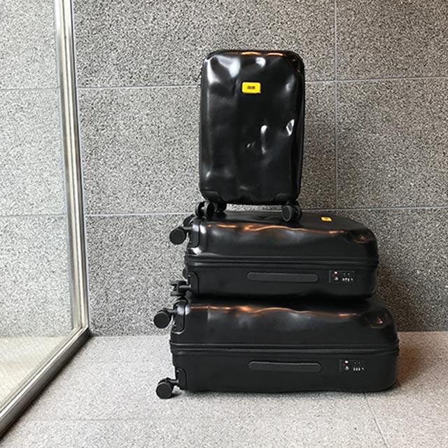 crashbaggage の 機内持ち込みサイズのS/M/Lの3つのラインナップ の画像